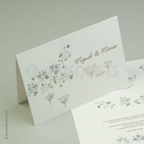 Invitación Flores de Amor