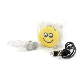 Caja MP3 Emoji con cascos