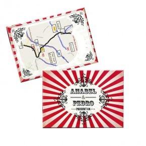 Tarjetón Mapa