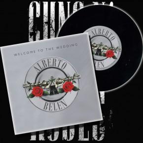"""Disco de vinilo """"Guns-n-Roses"""""""